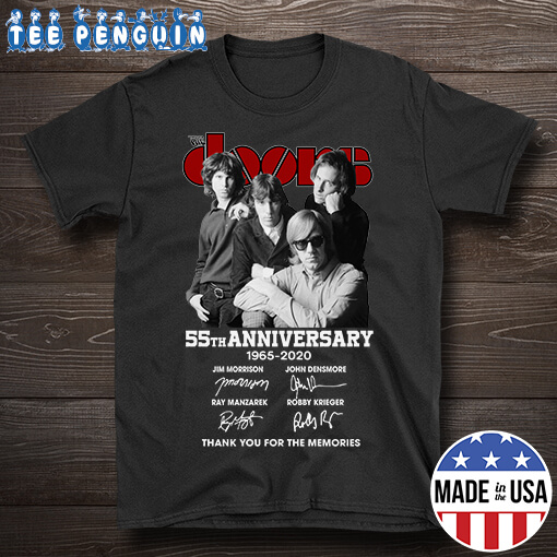 55th Anniversay The Doors Rock Band