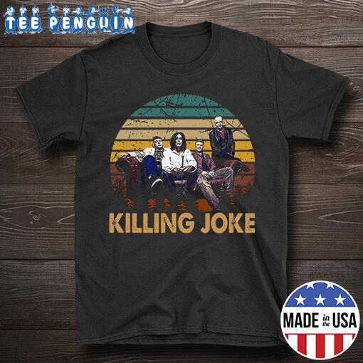 Vintage Killing Joke English Rock Band