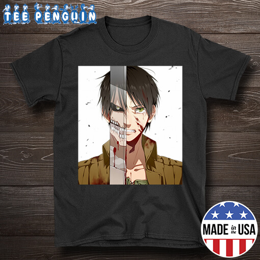 Attack On Titan Eren Yeager and Titan