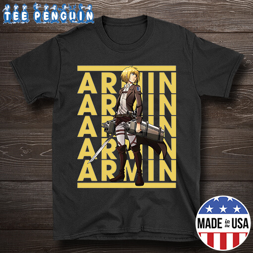 Retro Name Armin Arlert Attack On Titan