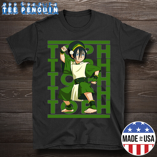 Retro Name Toph Avatar The Last Airbender